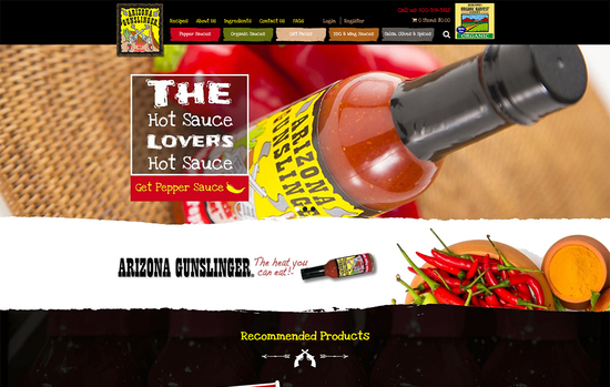 Arizona Gunslinger Hot Sauce