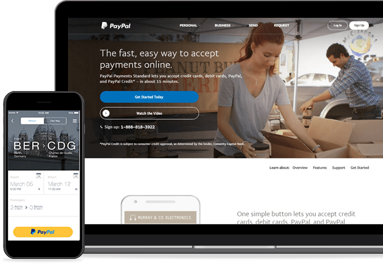 PayPal Payment Gateways
